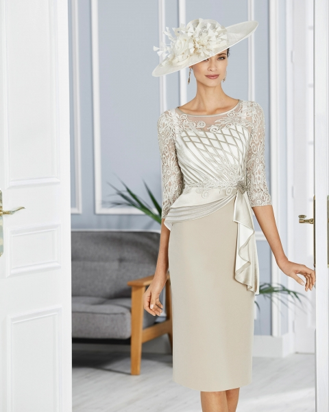 COUTURE CLUB BY ROSA CLARA IVORY/NUDE