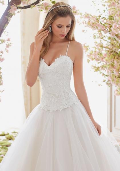 6840 Lace Bridal Bodice