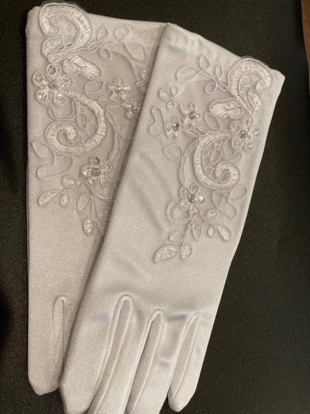 COMMUNION GLOVES WHITE 777