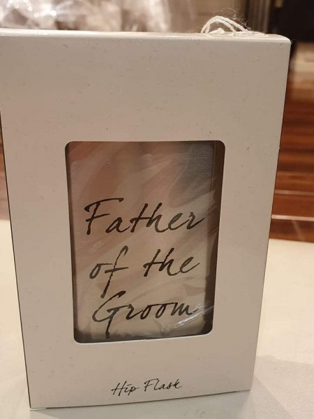 Hip Flask - Father of the Groom