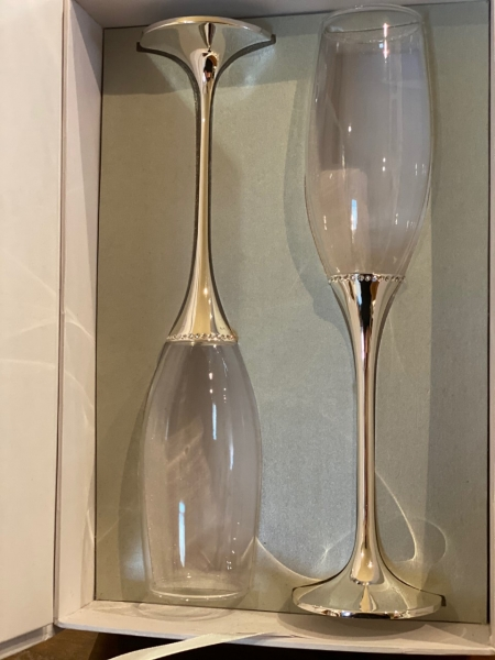Tipperary Crystal Champagne Flutes